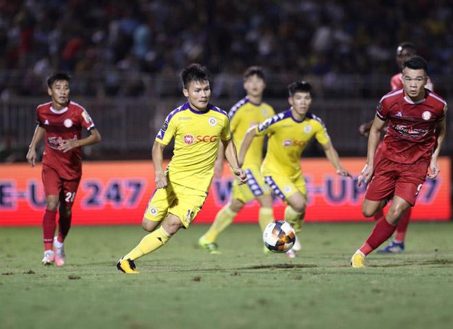 Tâm điểm vòng 11 V-League 2020 là cuộc đối đầu giữa TP.HCM và Hà Nội FC