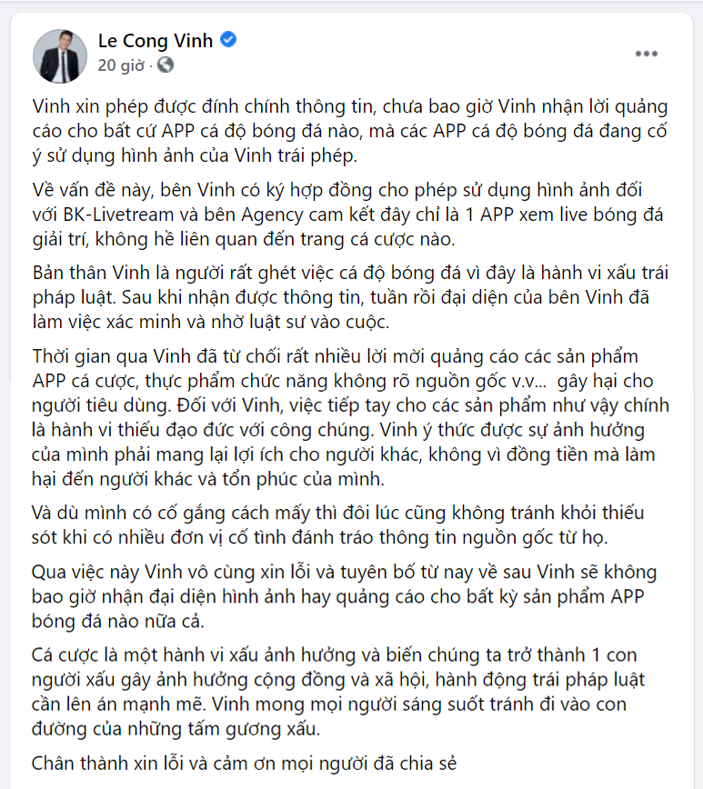 cong-vinh-thuy-tien-bi-cdm-dua-ra-bang-chung-kho-choi-cai-vu-quang-cao-ca-do-bong-da-tra-hinh