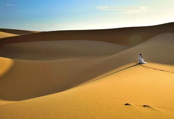 Mơ thấy cát trên sa mạc