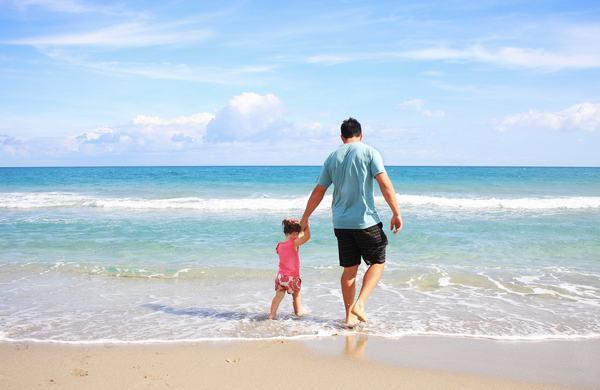 Mơ thấy hai bố con đi du lịch cùng nhau