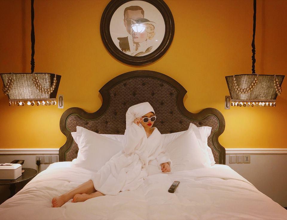 Mơ thấy mình ở trong một khách sạn to lớn