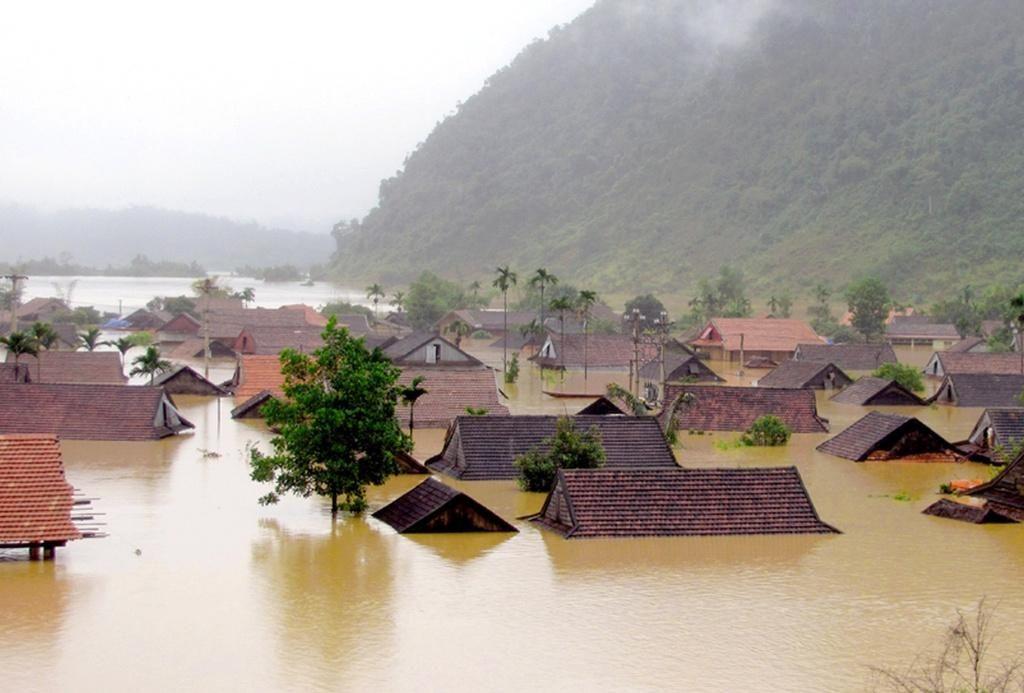 Mơ thấy nhiều ngôi nhà bị ngập lụt