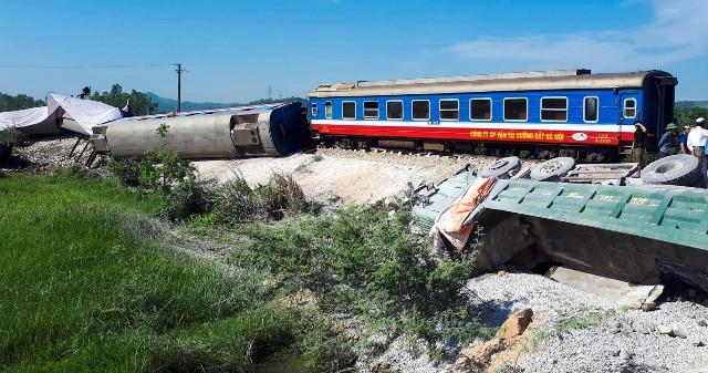 Mơ thấy tàu hỏa bị lật