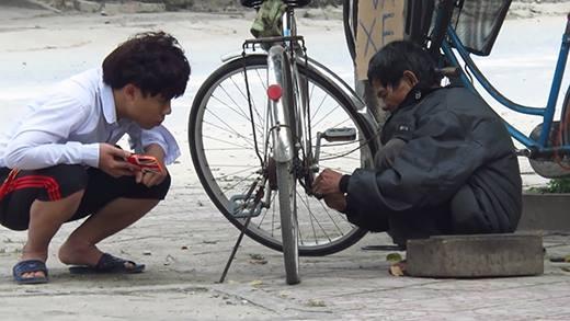 Mơ thấy vá lốp xe đạp