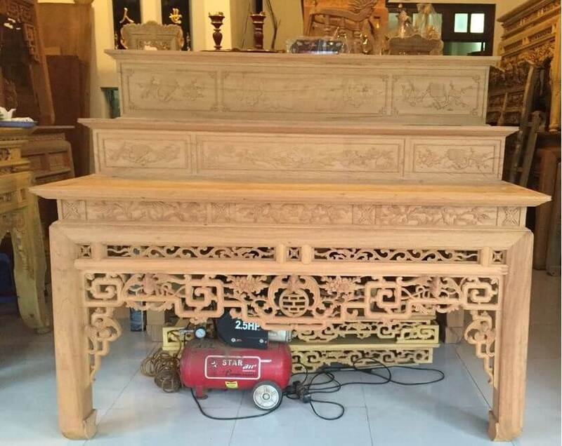 Mơ thấy bàn thờ đang xây dựng dở dang