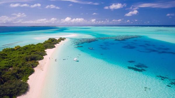 Mơ thấy biển xanh