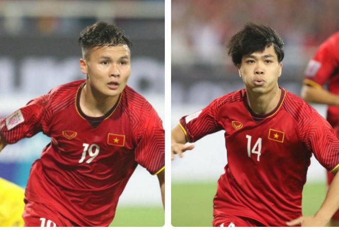Công Phượng và Quang Hải sẽ có dịp đối đầu nhau trên sân Thống Nhất khi TP.HCM gặp Hà Nội FC